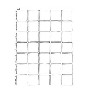 kalender-maandsjabloon