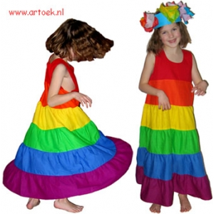 patroon-regenboogjurk